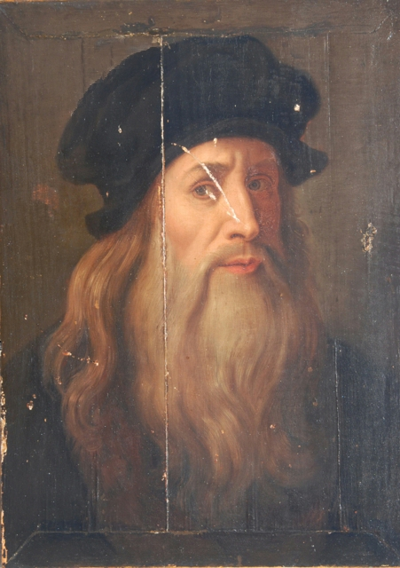 Description leonardo da vinci lucan self-portrait portrait