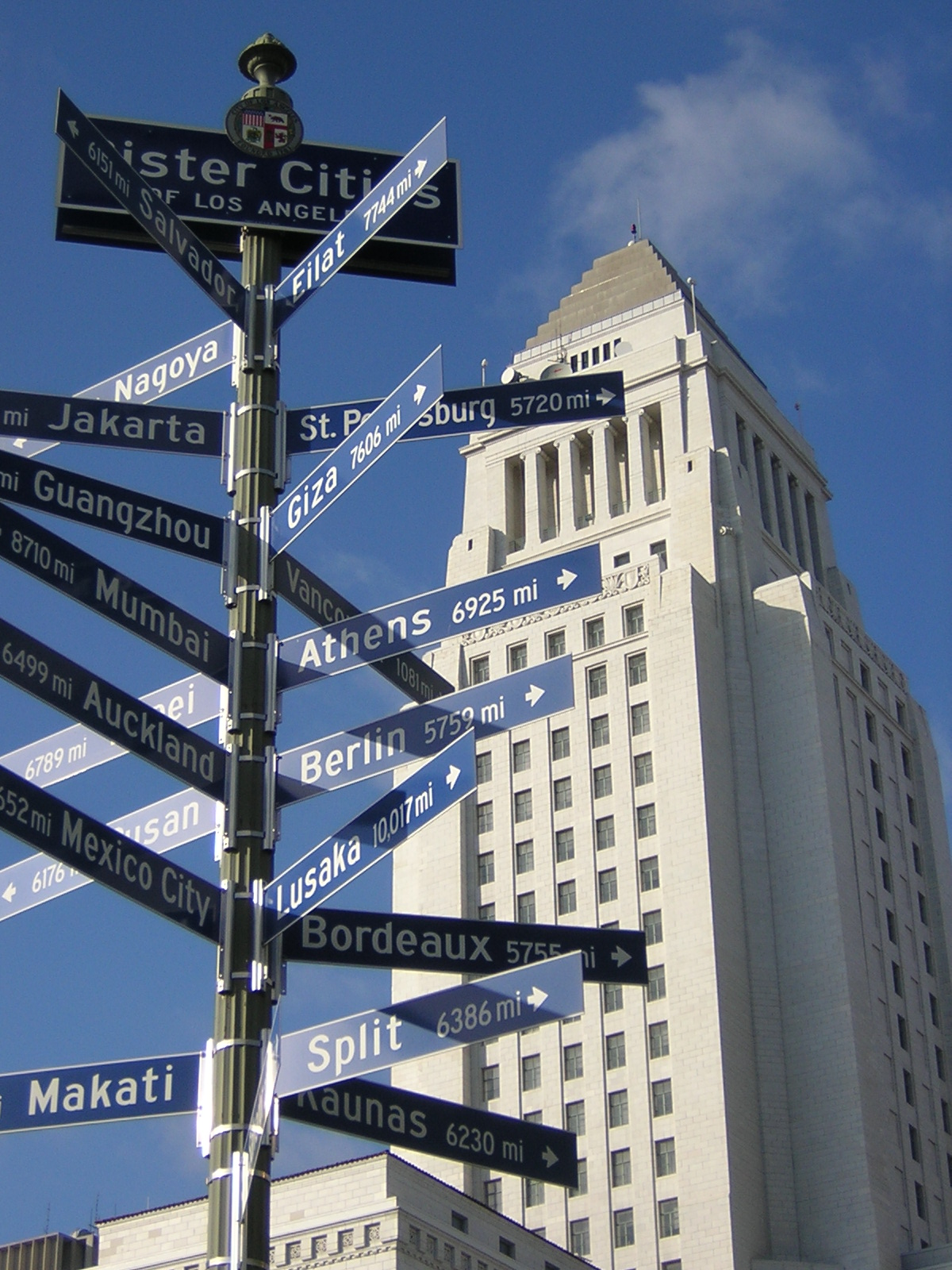 City Of Los Angeles Organizational Chart: Los Angeles Sister Cities.JPG - Wikimedia Commons,Chart