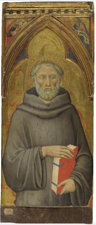 Luca di Tommè (ca 1330-89): Den hellige Johannes Gualbertus