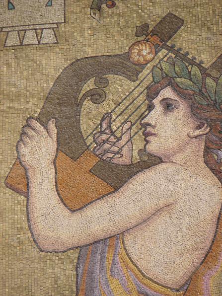 File:Lyon Mosaïque de la muse Euterpe de la salle Rameau.jpg