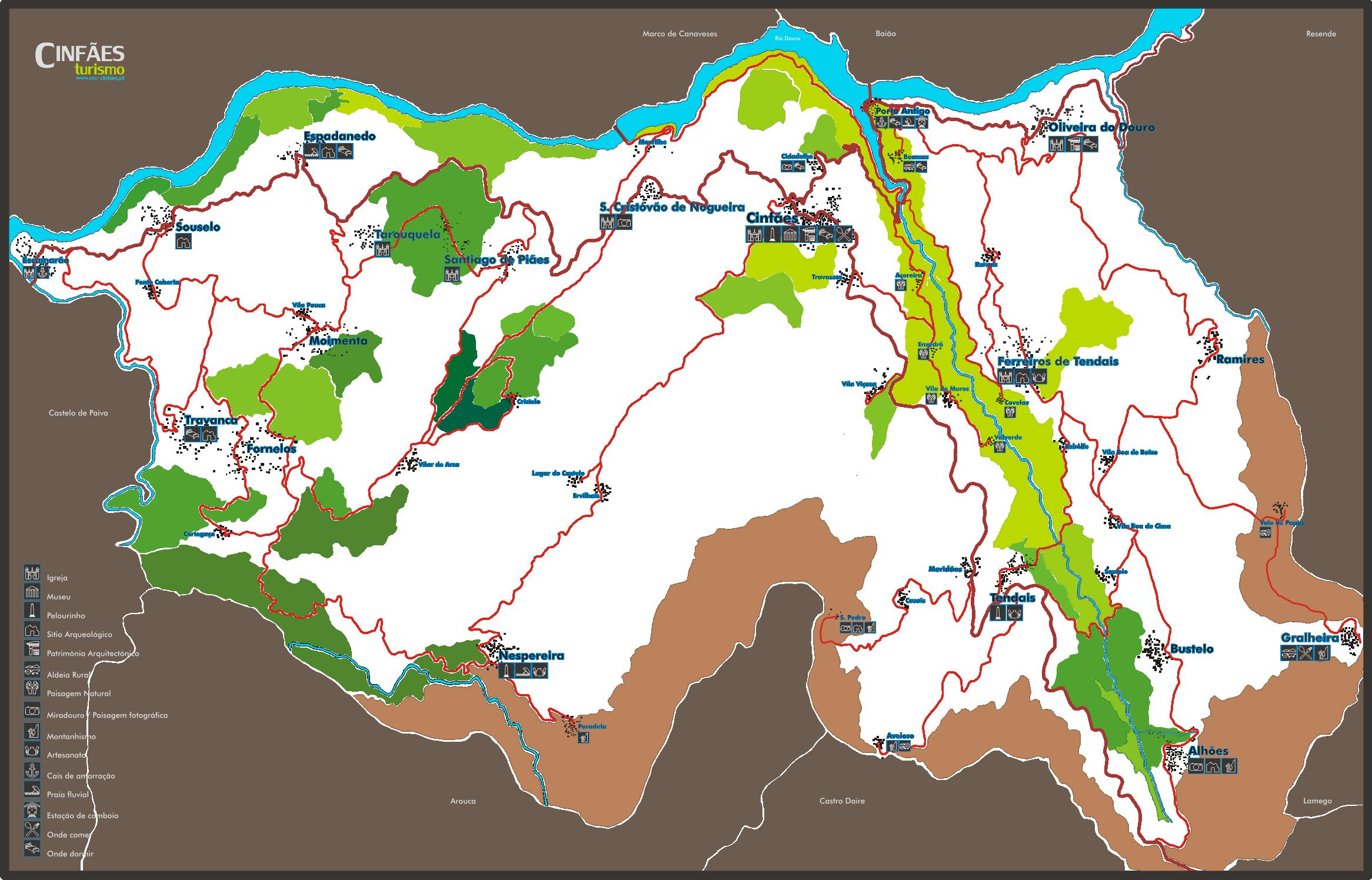 cinfães mapa Ficheiro:Mapa Cinfães.png – Wikipédia, a enciclopédia livre cinfães mapa