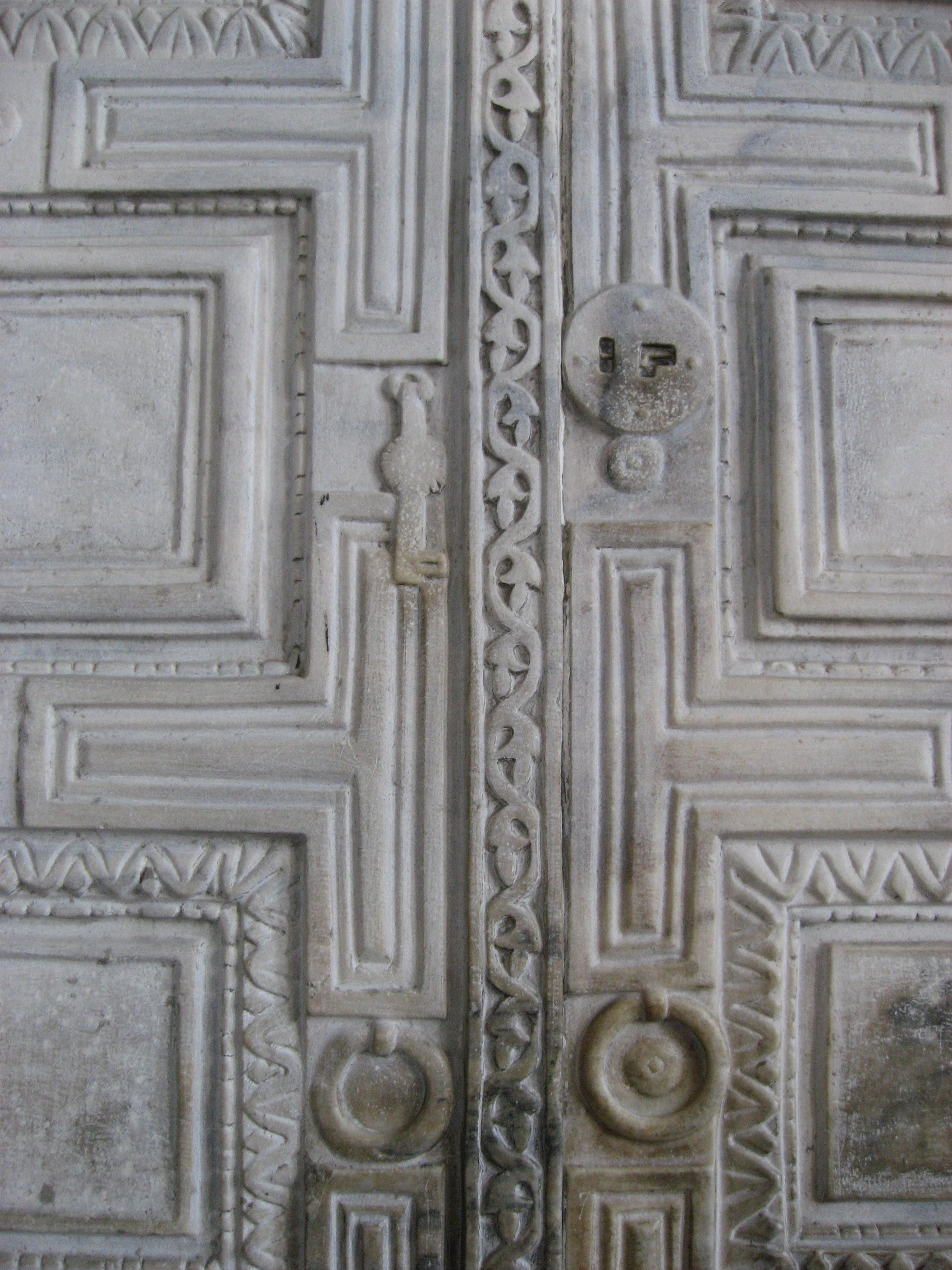 Merveilleux File:Marble Door Hagia Sophia March 2008b.JPG