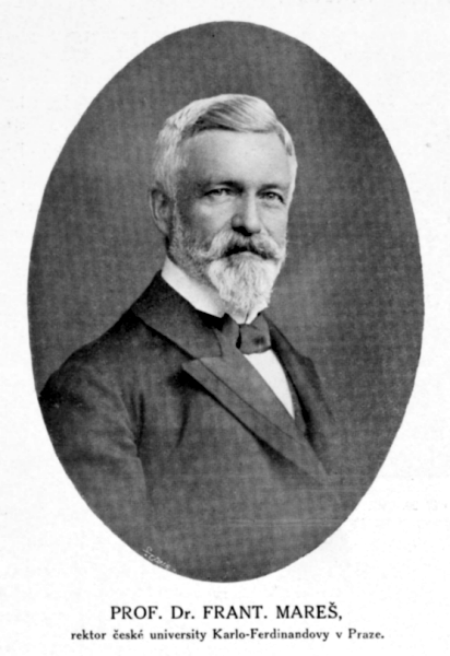 František Mareš, ca. 1912
