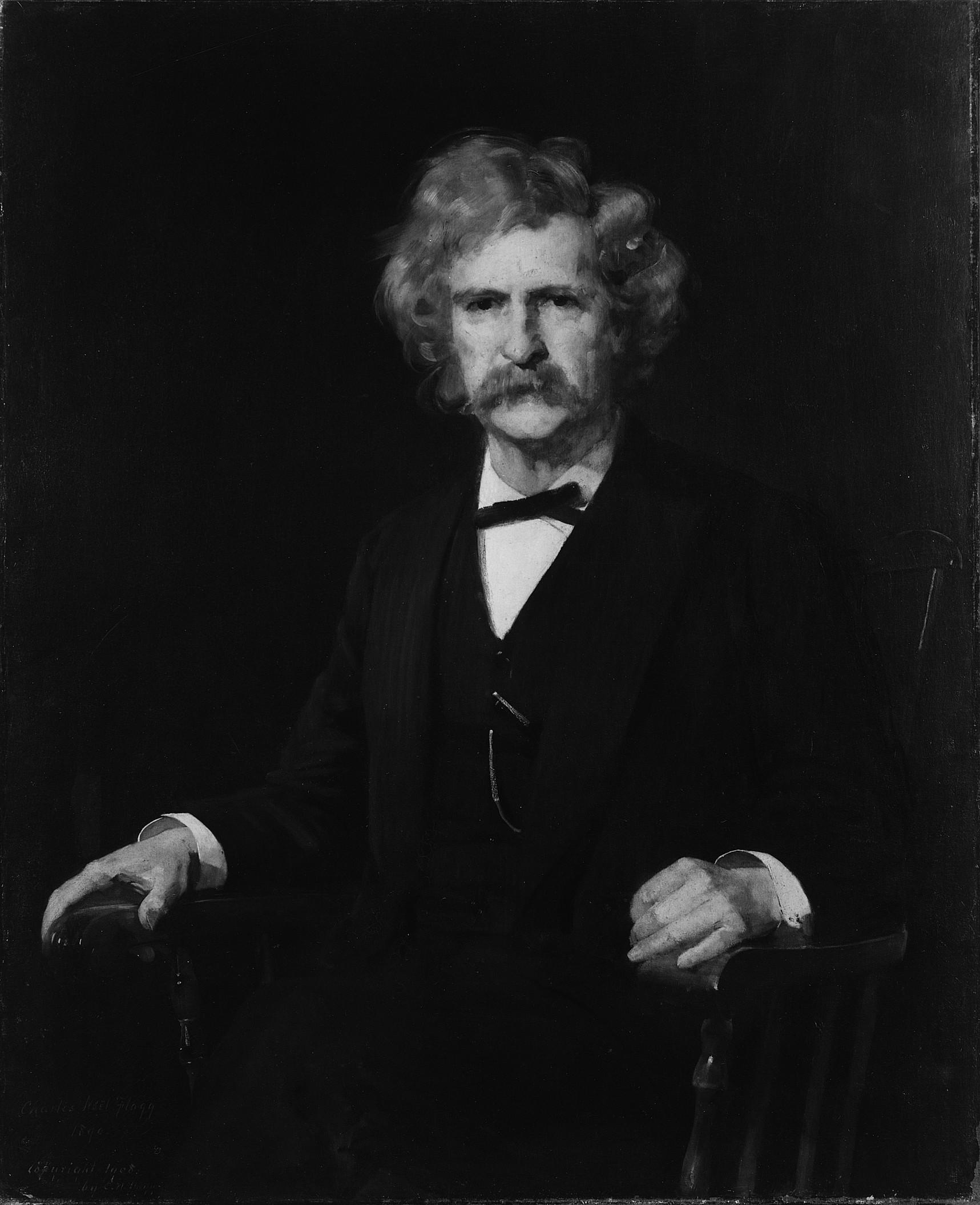 Mark Twain (Samuel Longhorn Clemmons)
