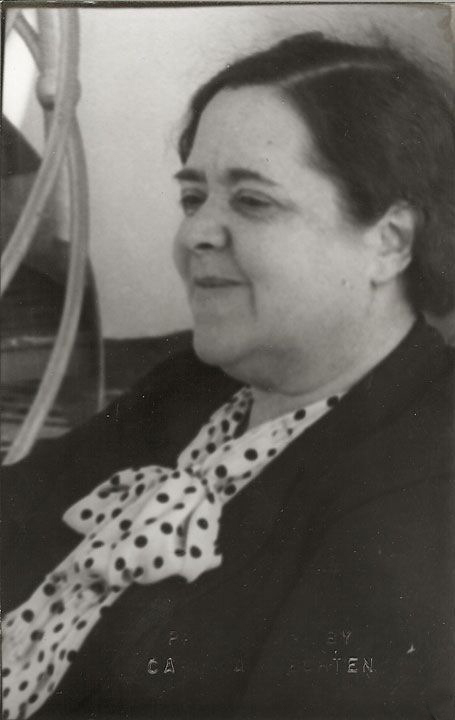 Portrait of Elsa Maxwell