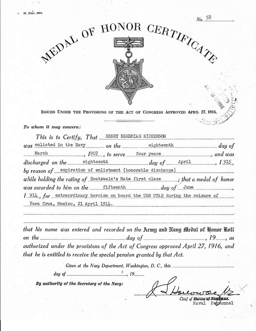 Filemedal of honor certificate smallg wikimedia commons filemedal of honor certificate smallg yadclub Gallery