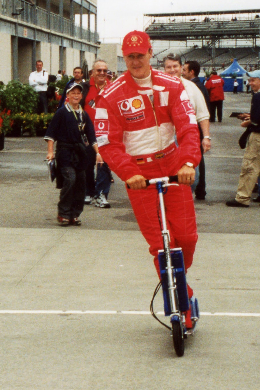 Michael Schumacher in 2002