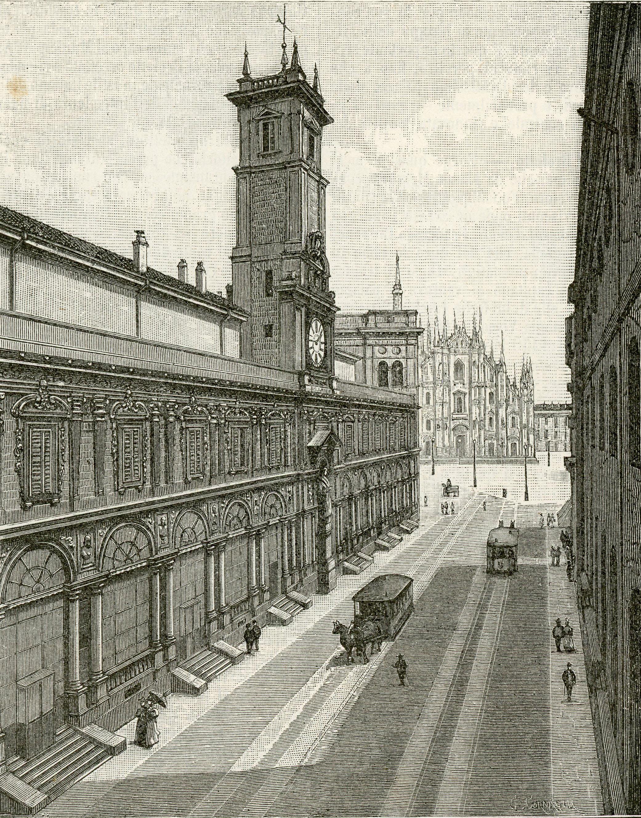 Palazzo dei Giureconsulti bourse milan
