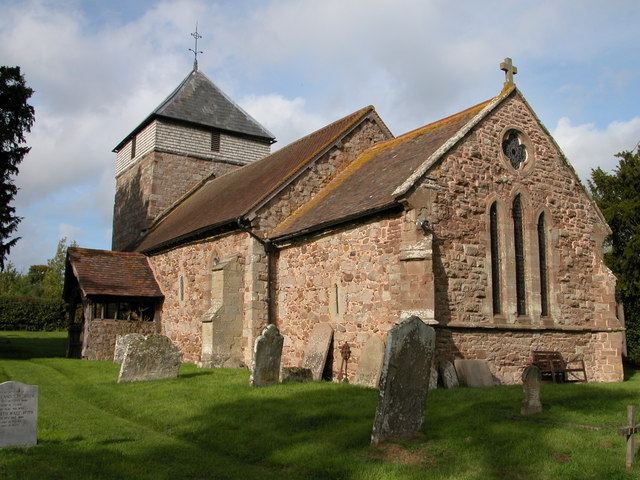 St George's parish church, Milson, Shropshire