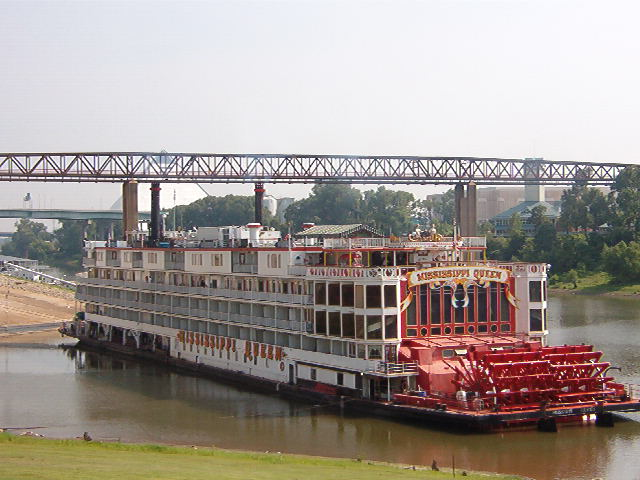 FileMississippi Queen Steam Paddle Boat