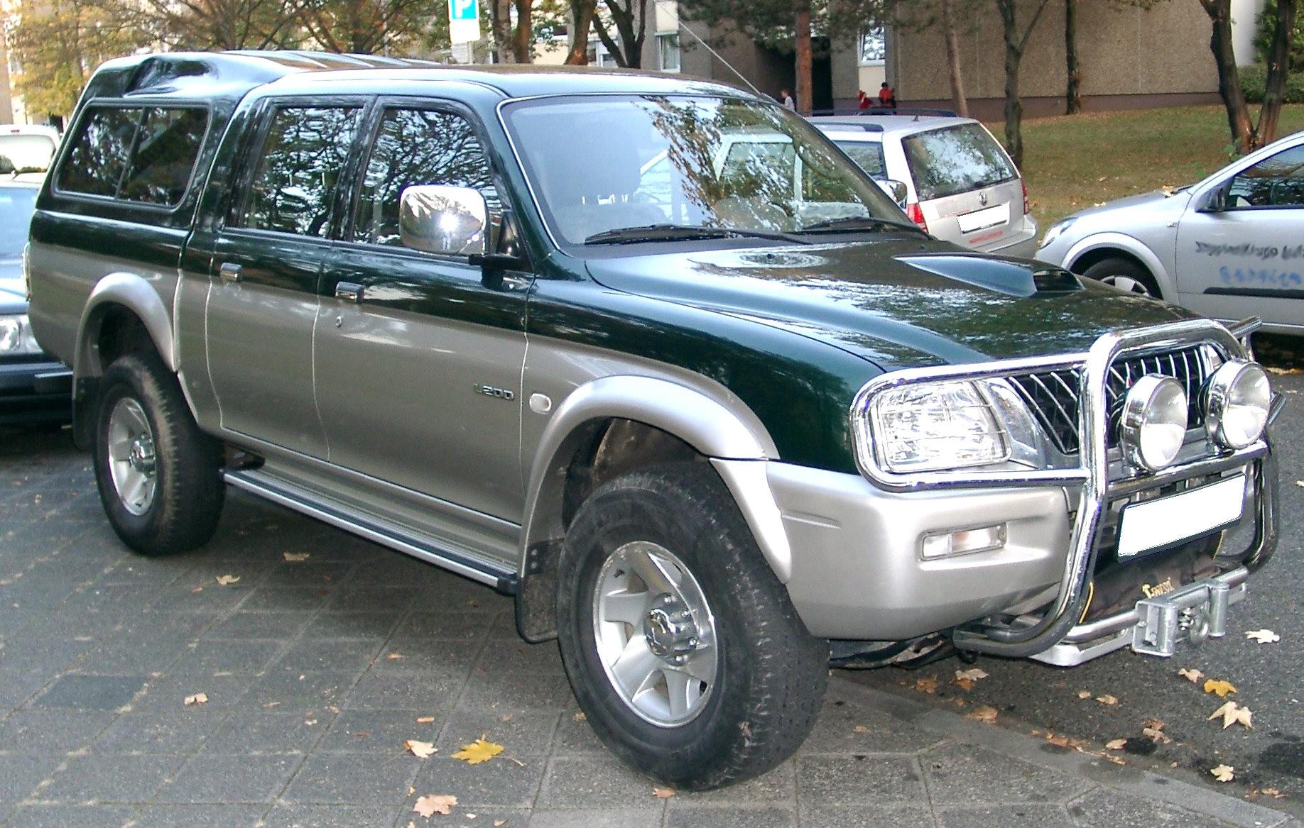 Mitsubishi L200 Wikipdia A Enciclopdia Livre | Autos Weblog