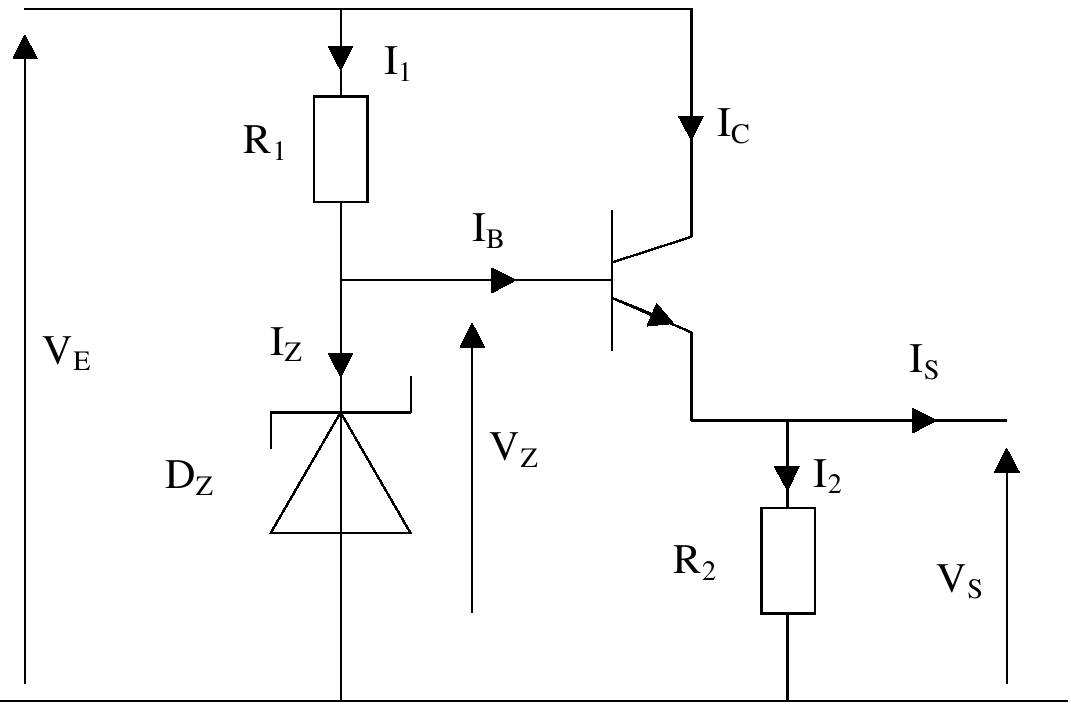 file montage diode z u00e9ner et transistor png