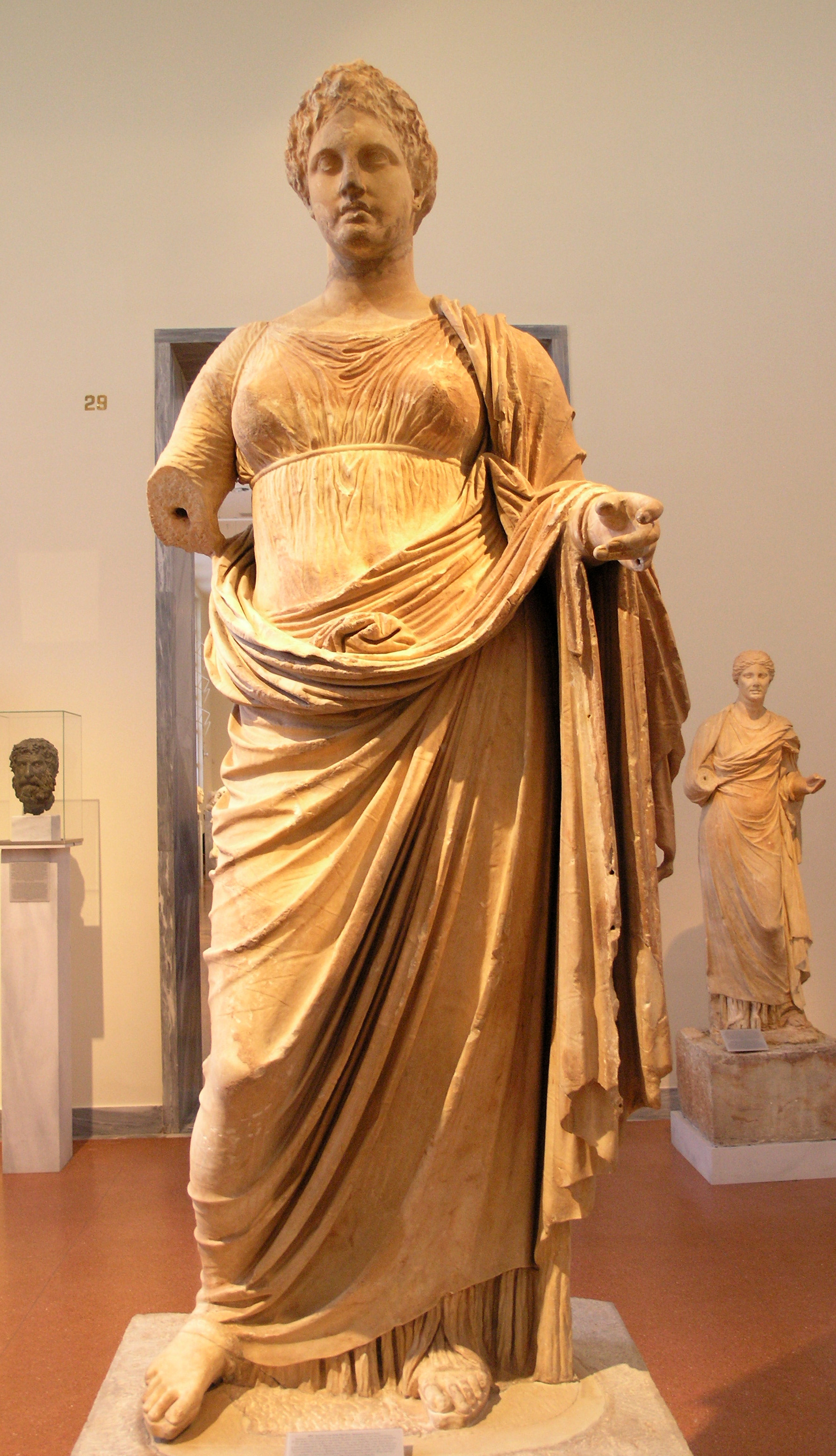 Statue of Themis from Rhamnous