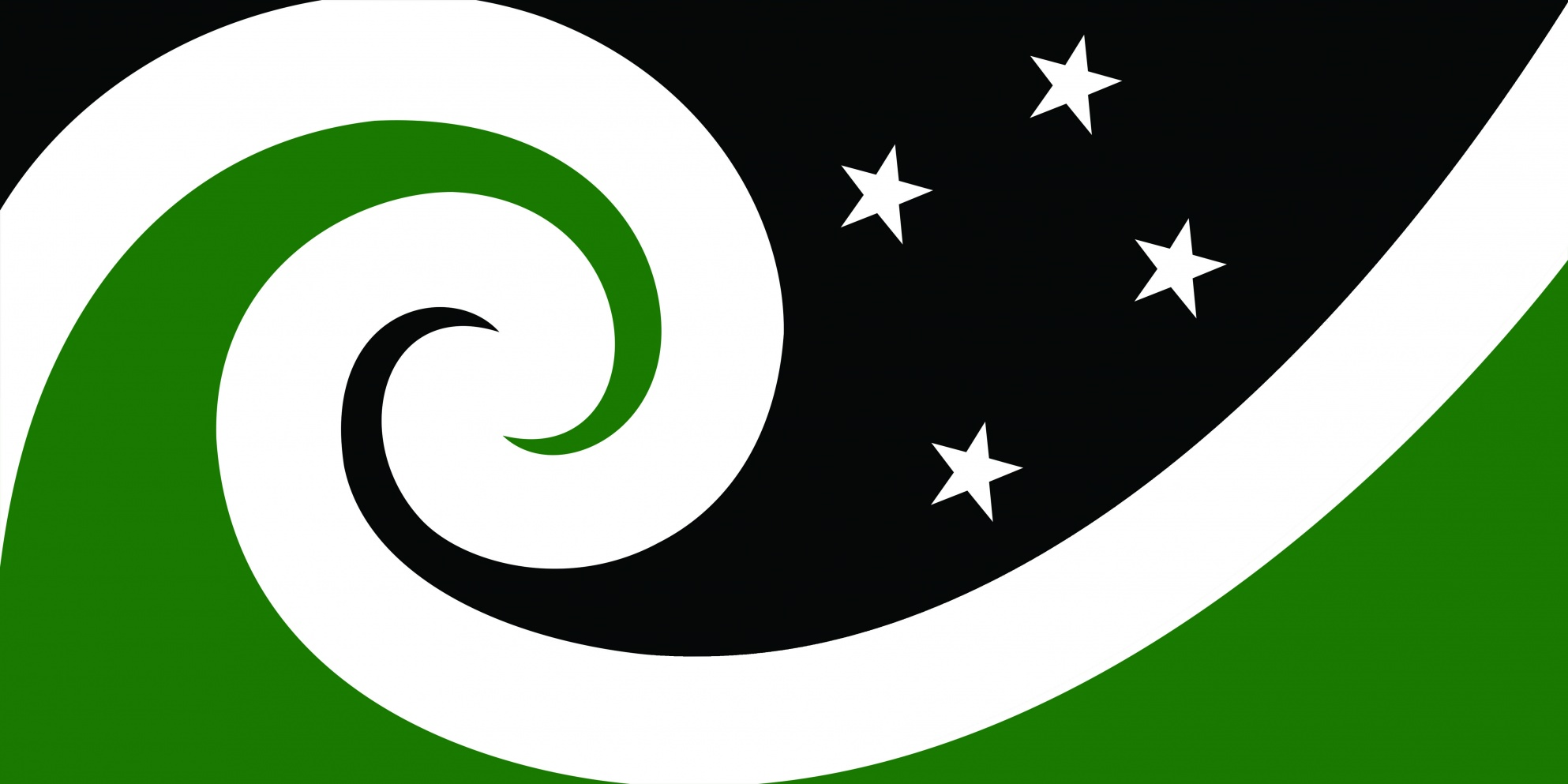 File:NZ flag design Manawa (Black & Green) by Otis Frizzell.jpg ...