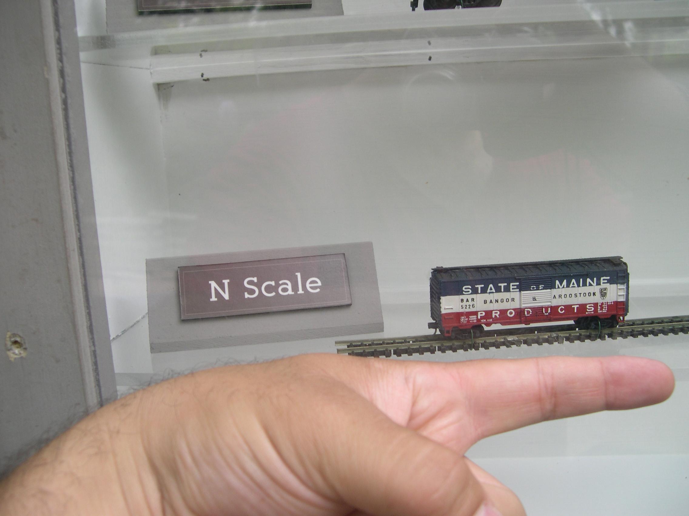 fingered on train