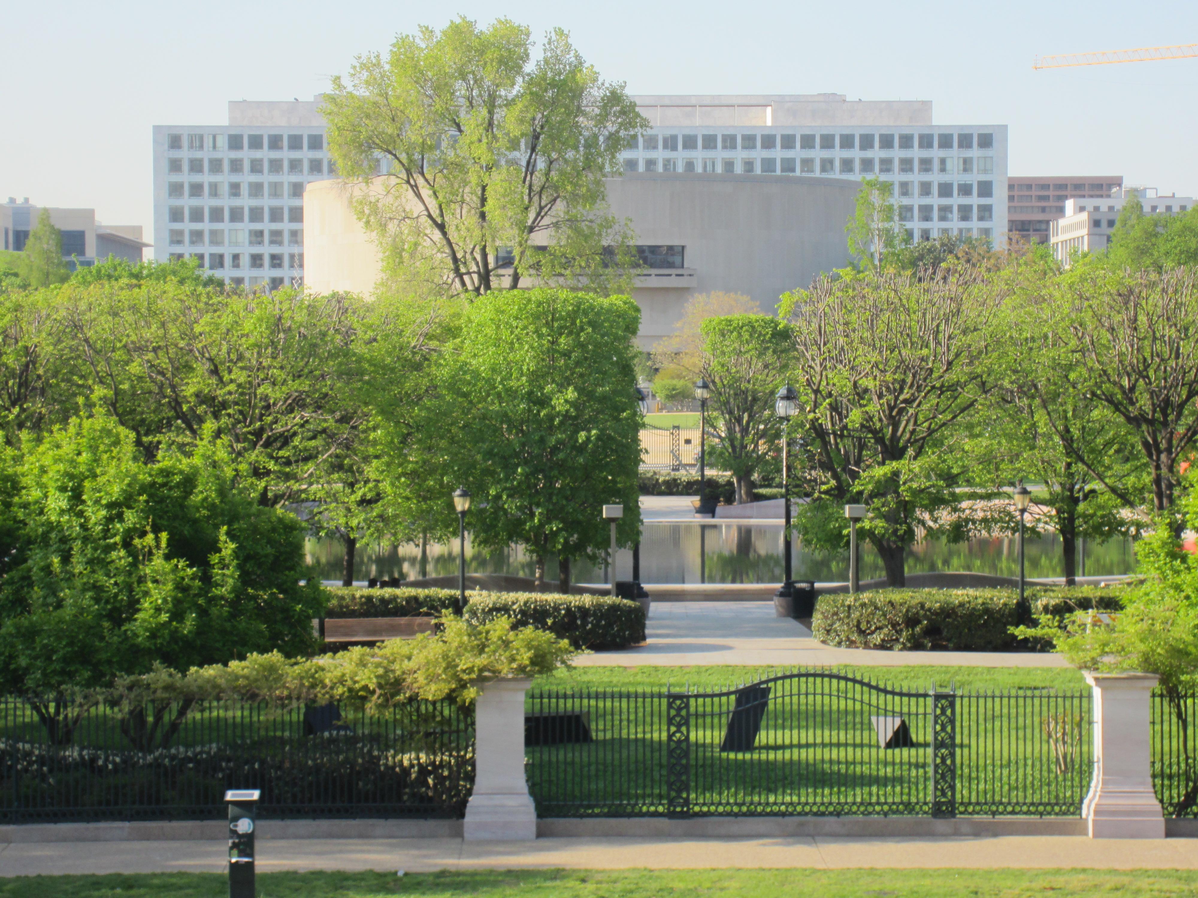 National Gallery of Art Sculpture Garden and Hirshhorn % JPG