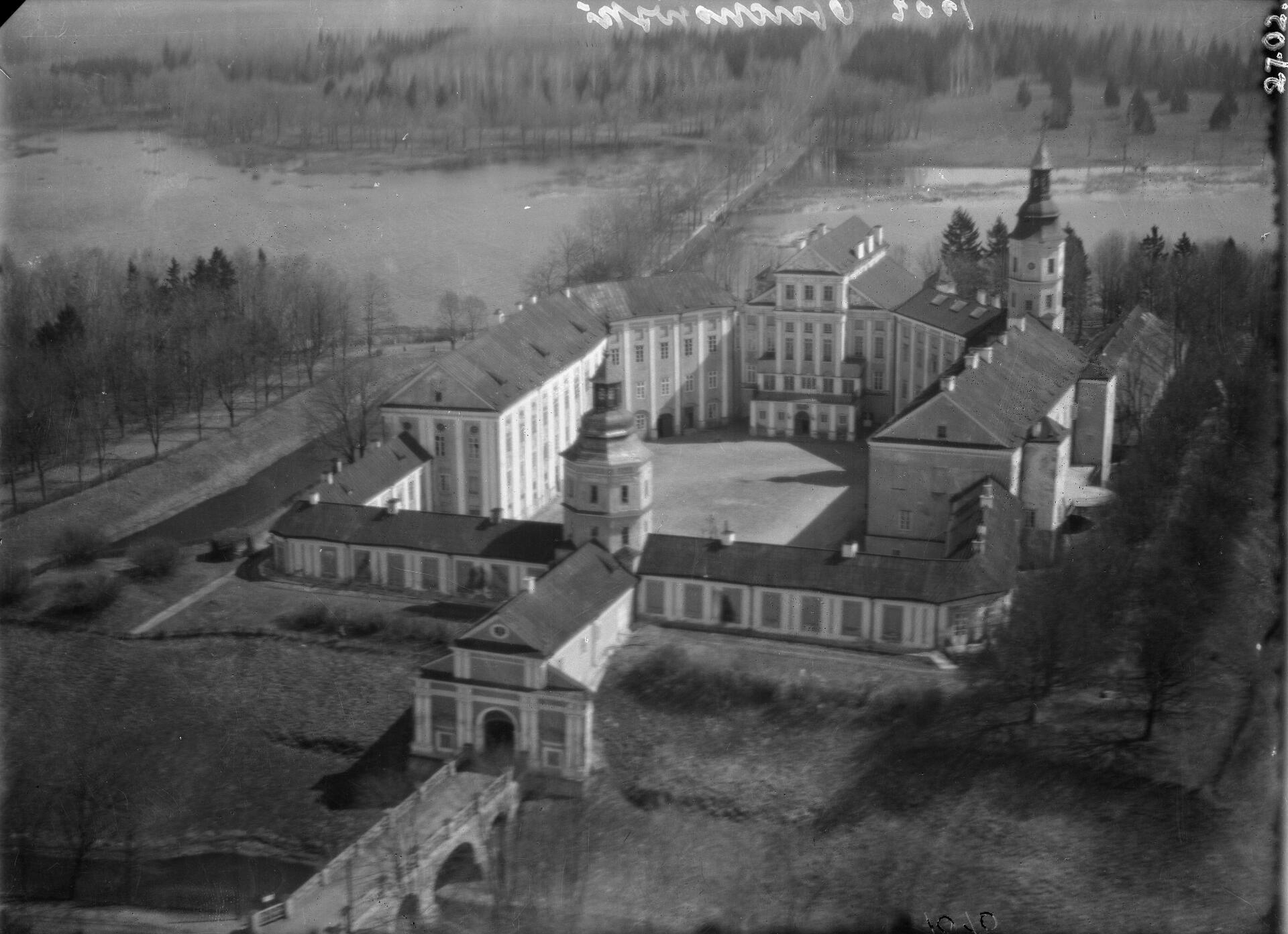 16. yüzyılda Nesvizh Kalesi