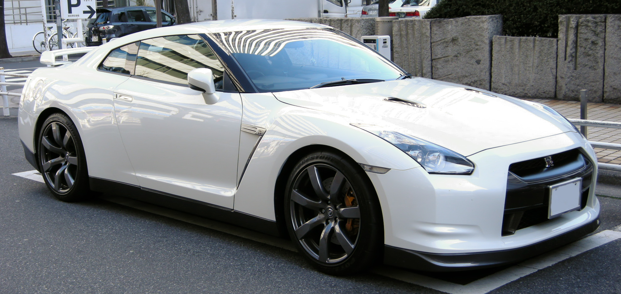 File Nissan Gt R 03 Jpg Wikimedia Commons