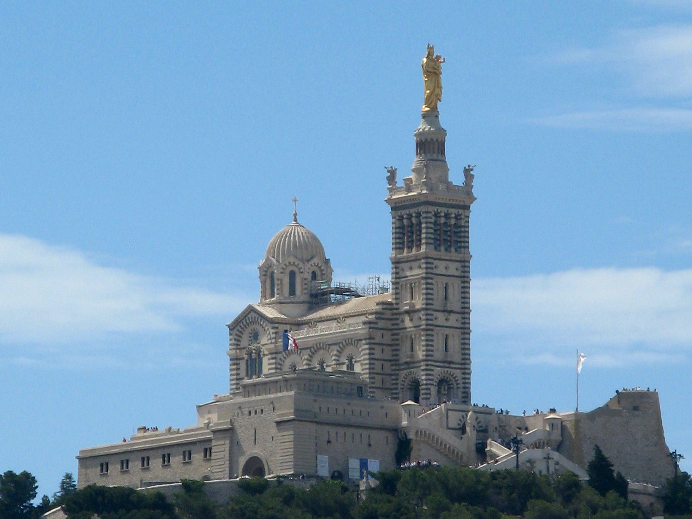 Datei Notre Dame De La Garde Marseille Jpg Wikipedia
