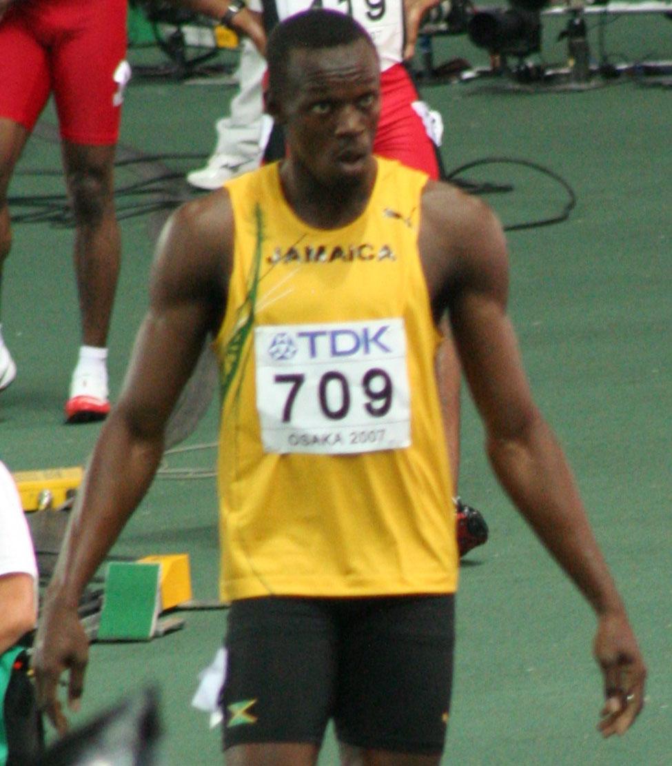 Merrit throws Gauntlet (4 Bolt) Osaka07_D5A_Usain_Bolt