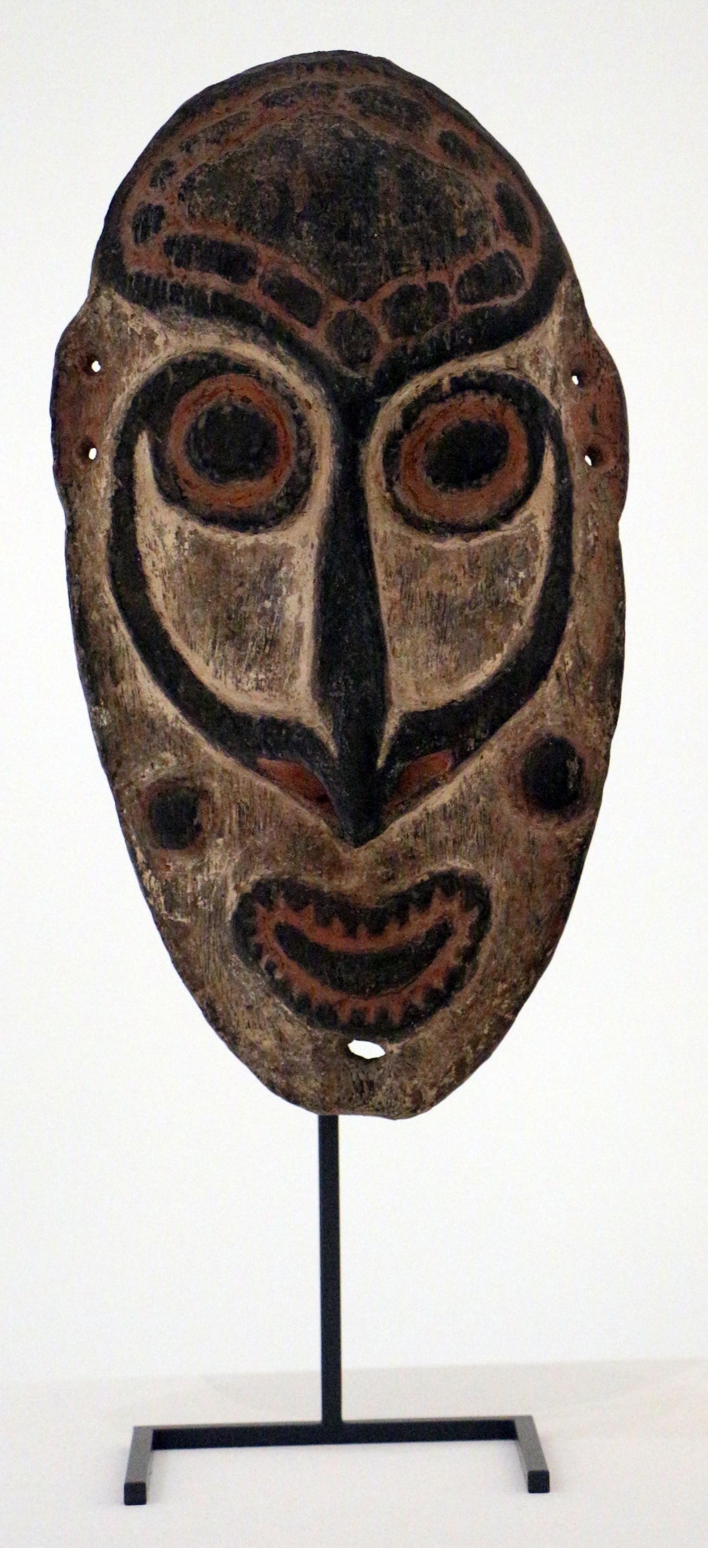 Filepapua Nuova Guinea Medio Sepik Maschera Da Picchettojpg