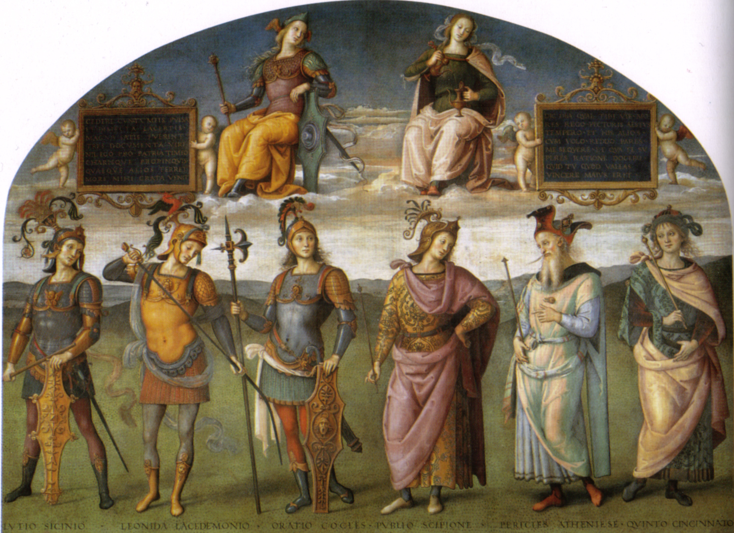 File:Perugino, Fortitude and Temperance with Six Antique Heroes 00.jpg