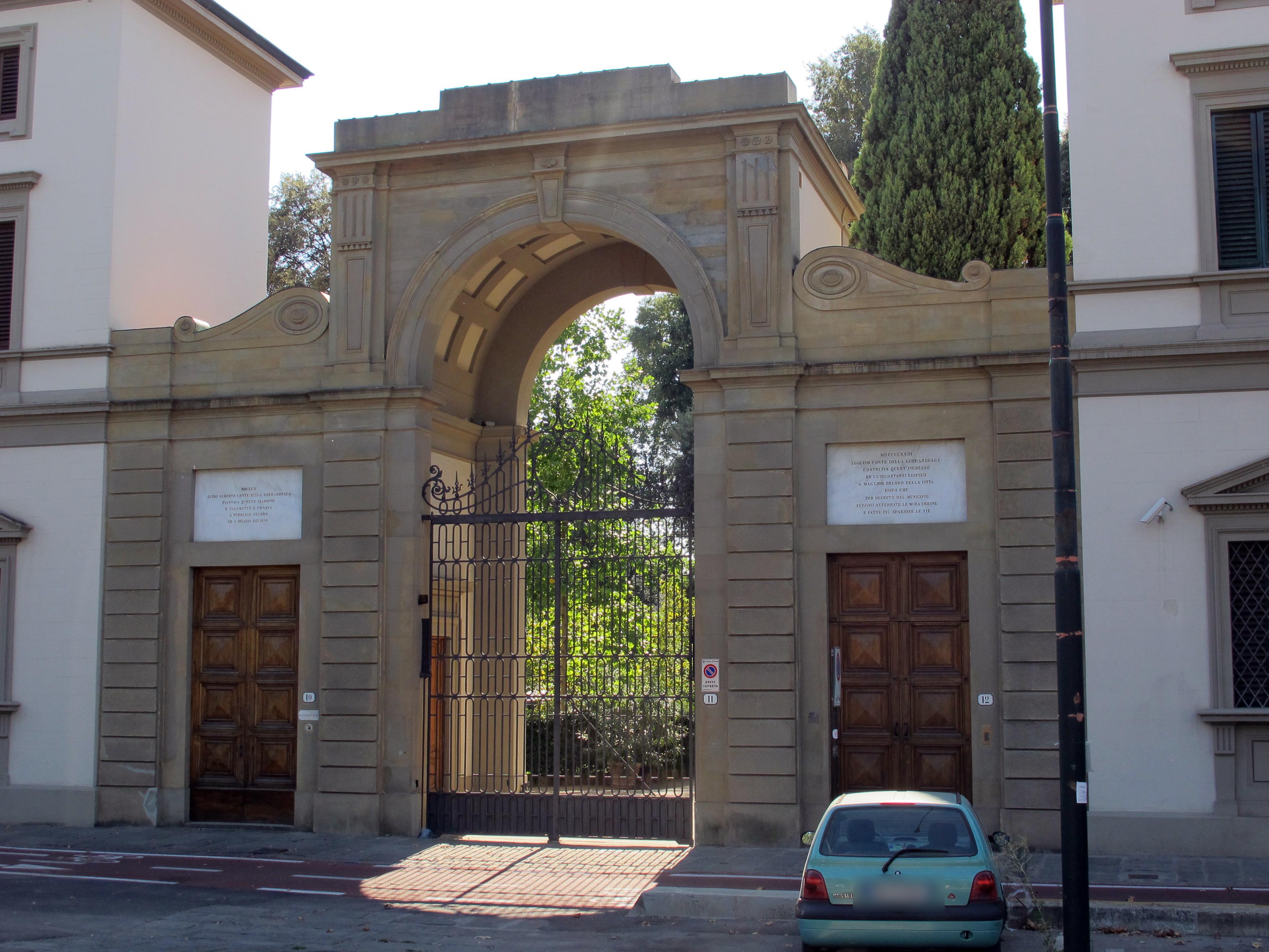 File piazzale donatello ingresso giardino della - Ingresso giardino ...