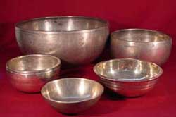 Antique Himalayan bowls (text taken from accom...