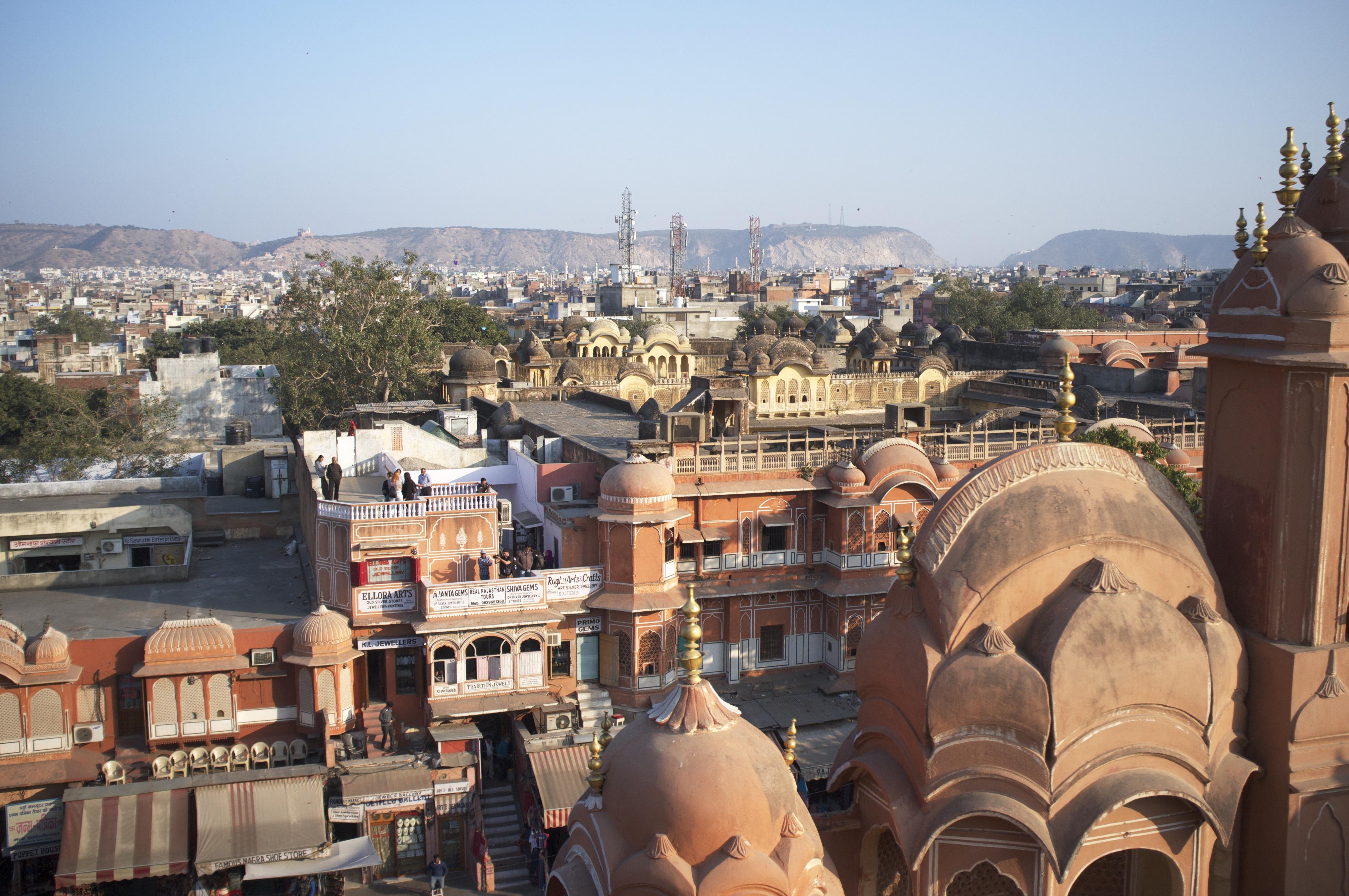 Meet a man in Jaipur City