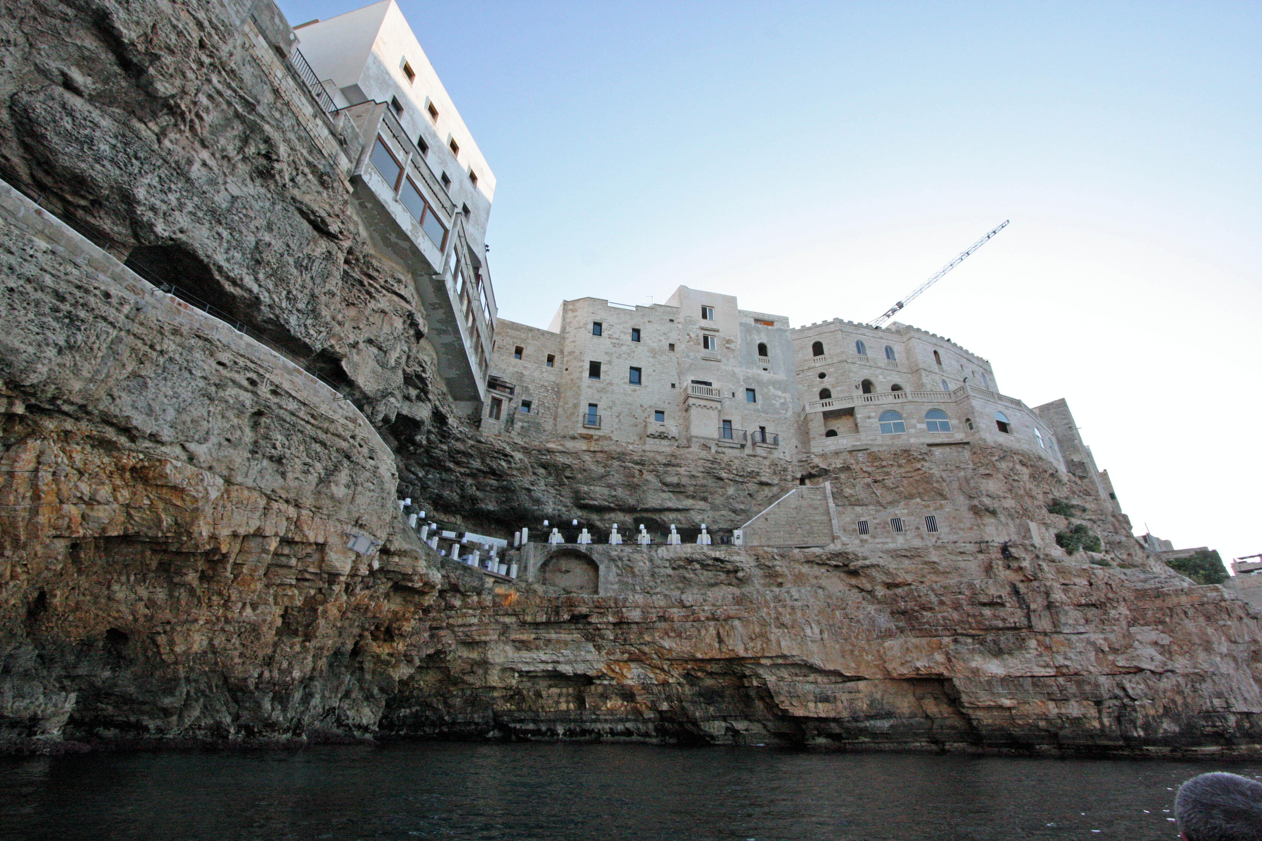"""Résultat de recherche d'images pour """"Grotta Palazzese, Polignano a Mare, Italy"""""""
