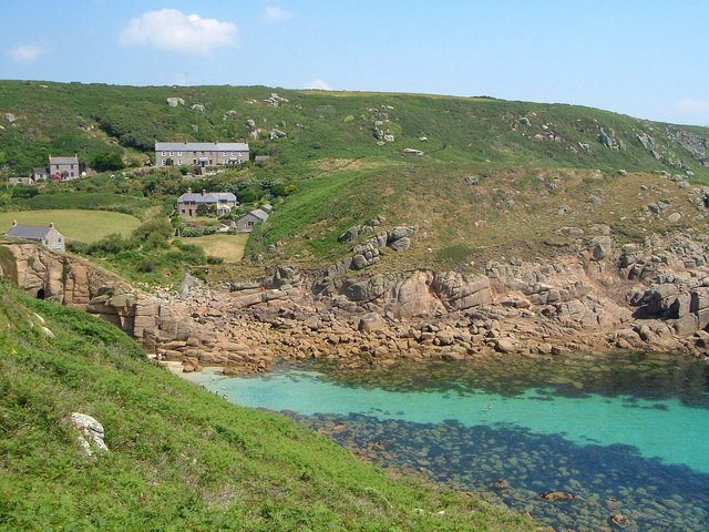 Porthgwarra from the west - geograph.org.uk - 1404222