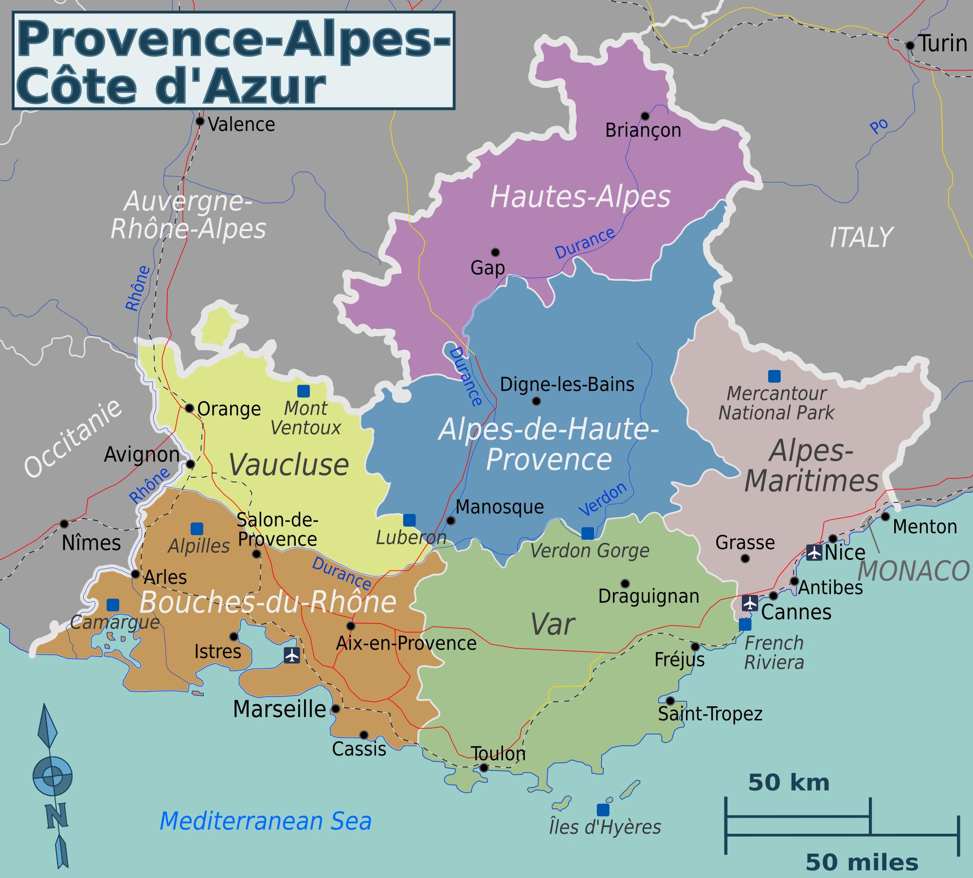 région provence