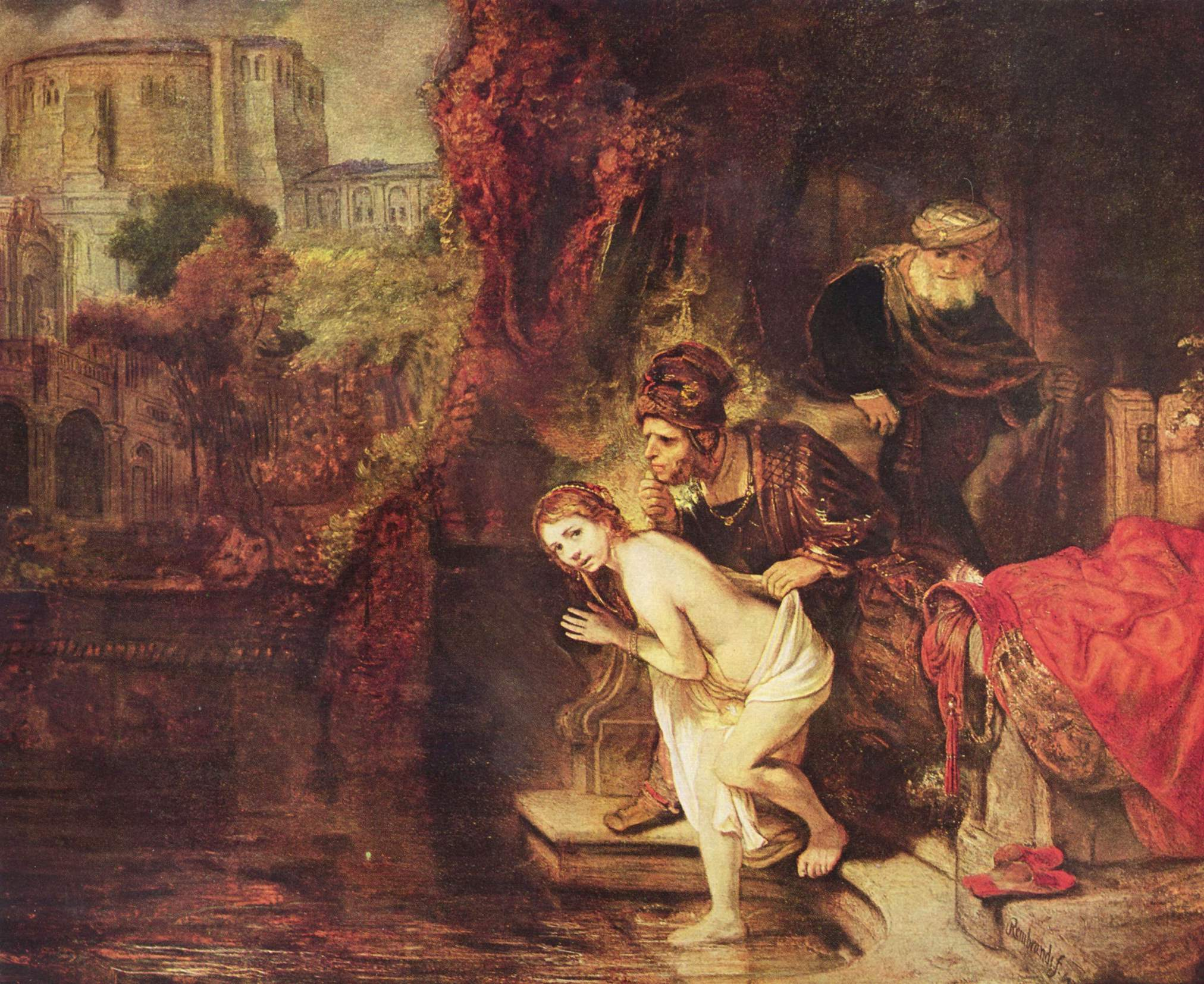 A virtude vence a concupiscência: Rembrandt (1647)