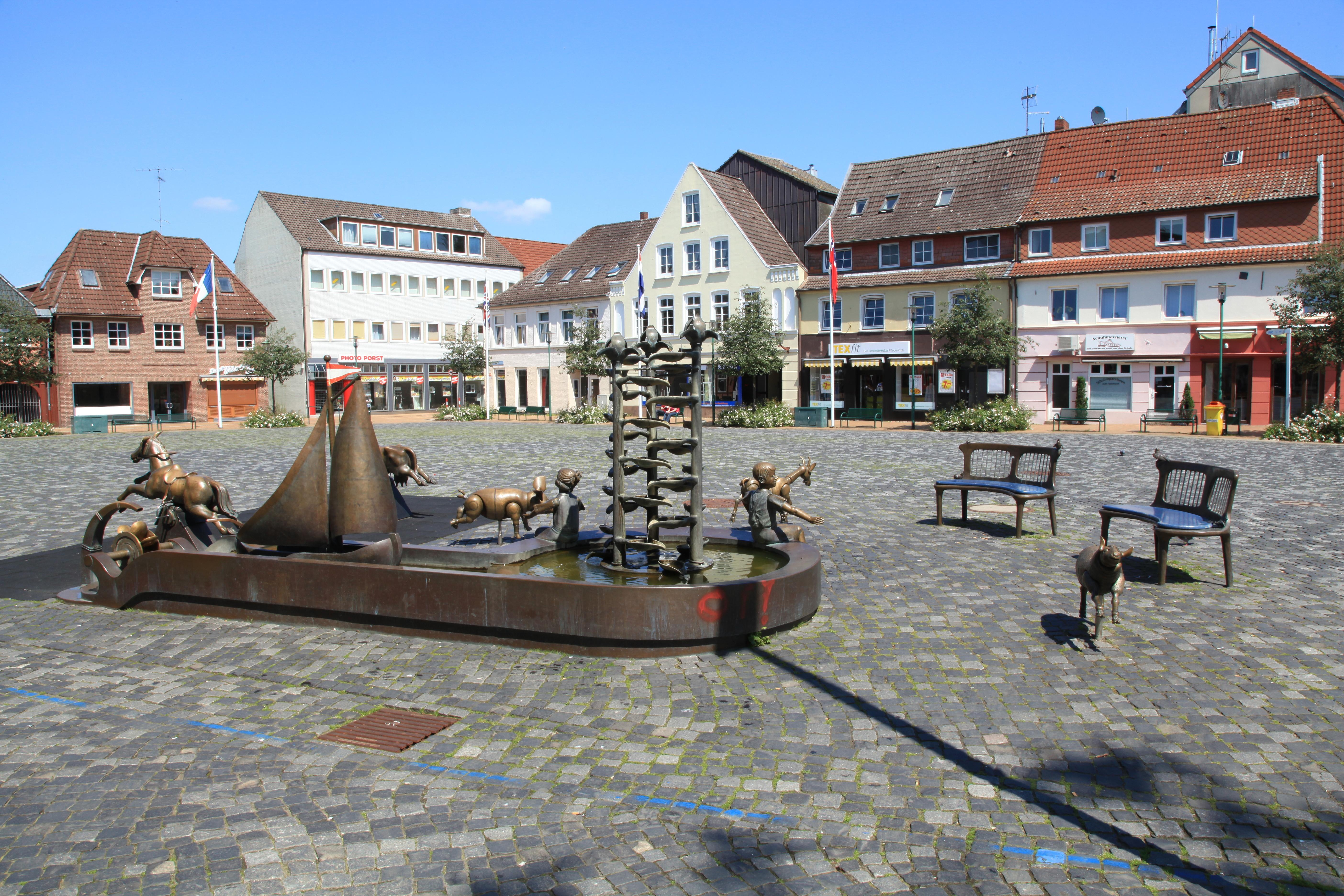 Rendsburg Schiffbrückenplatz