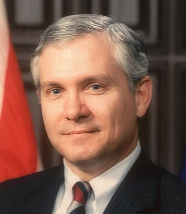 Robert Gates, former director of the CIA.