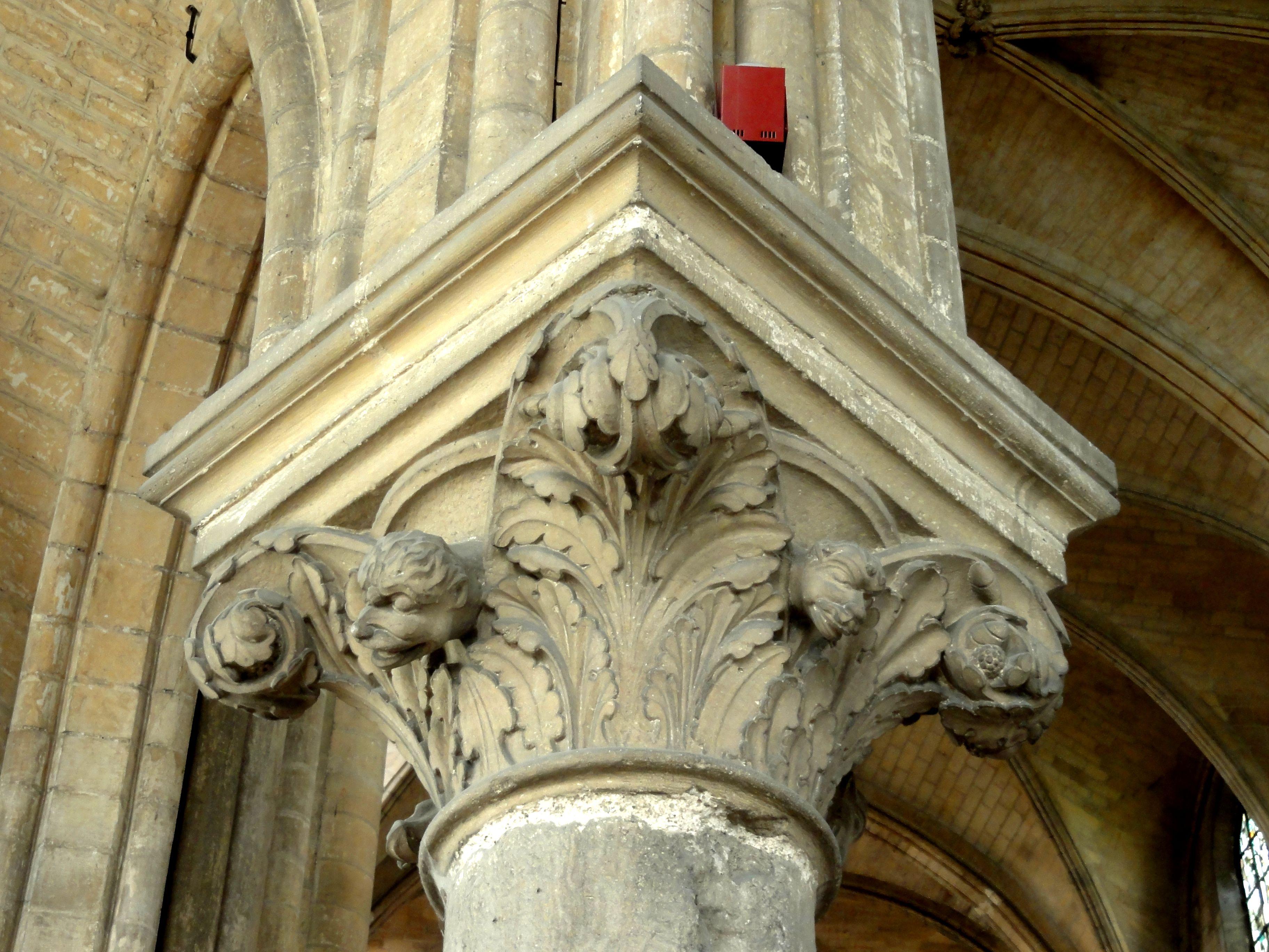 fichier saint leu d 39 esserent 60 glise st nicolas rond point de l 39 abside chap pilier. Black Bedroom Furniture Sets. Home Design Ideas