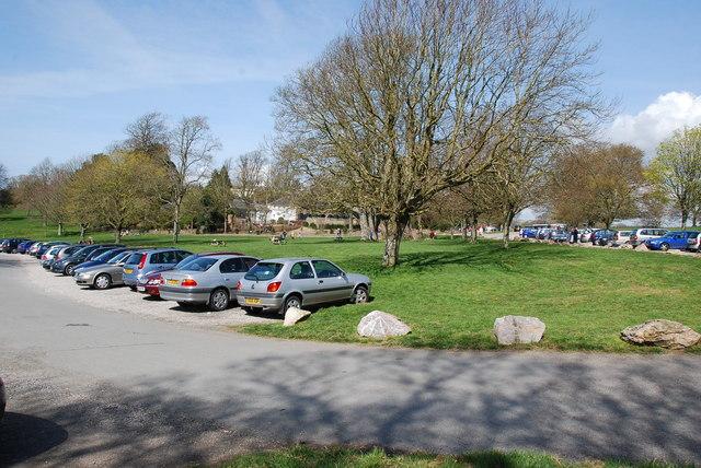 Saltram House Car park - geograph.org.uk - 1247289