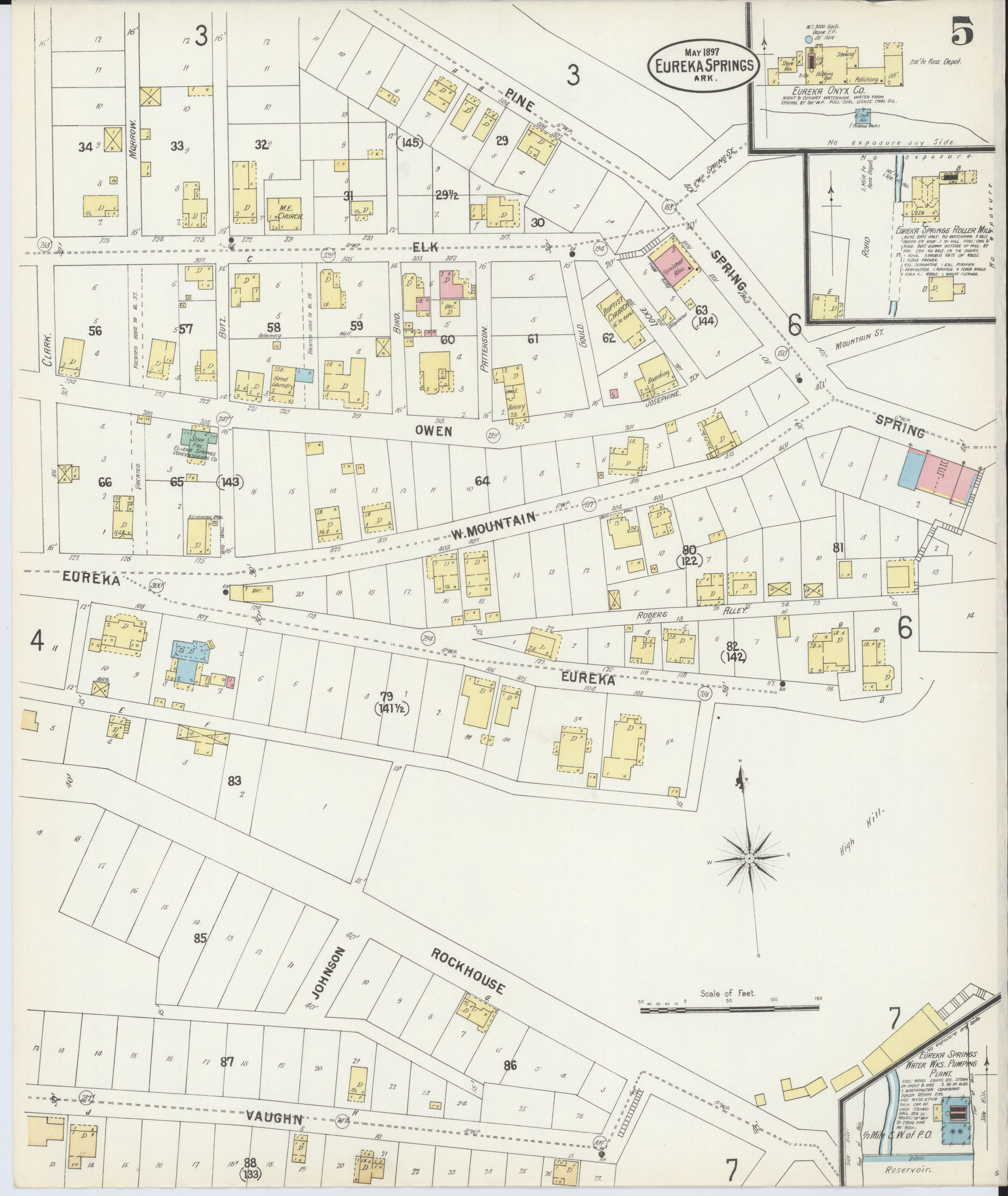 File:Sanborn Fire Insurance Map from Eureka Springs, Carroll ... on map of dermott arkansas, map of downtown banner elk nc, map of buffalo national river arkansas, map of yellville arkansas, map of decatur arkansas, map of de witt arkansas, map of london arkansas, map of arkansas in us, map of the buffalo river arkansas, map of mountainburg arkansas, map of everton arkansas, map of bauxite arkansas, map of washington arkansas, map of perryville arkansas, map of foreman arkansas, map of california eureka ca, map of drasco arkansas, map of gurdon arkansas, map of hoxie arkansas, map of springfield arkansas,