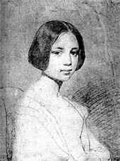 portrait d'une très jeune femme