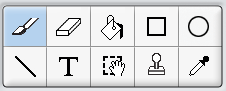 Scratch 1.4 Drawing Tool Toolbar.png