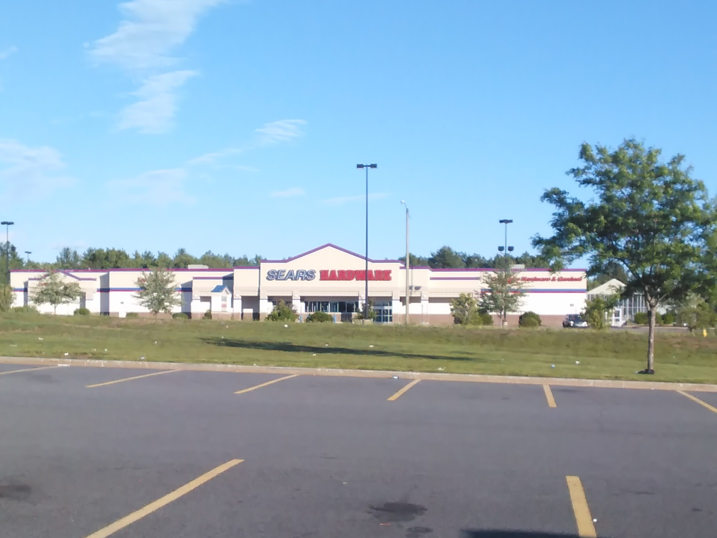 A closed Sears Hardware in Connecticut