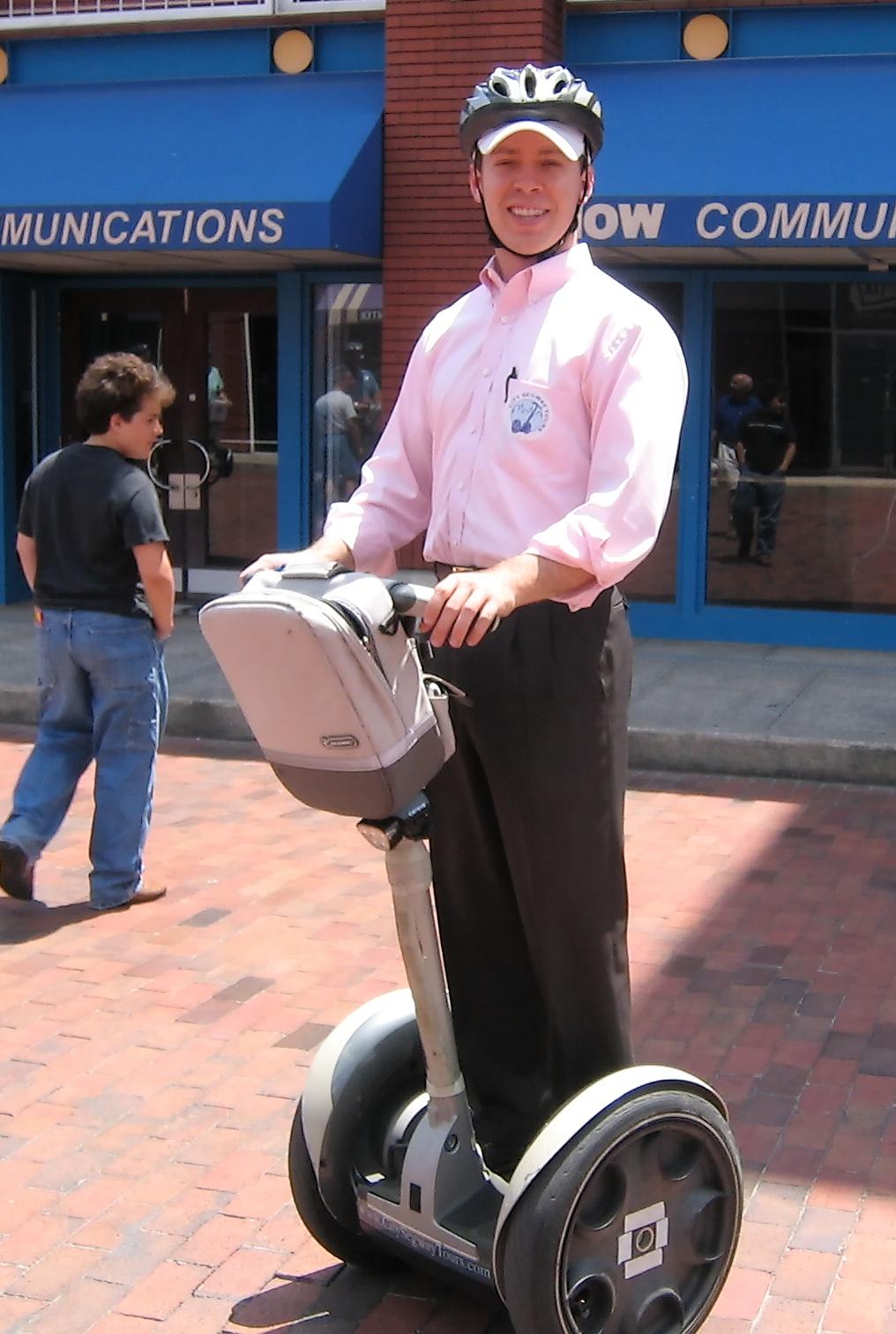 Segway Personal Transporter – Wikipedia