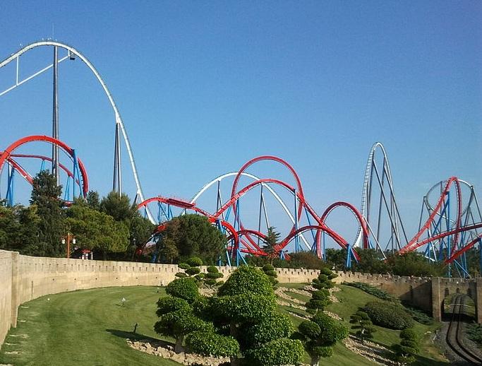 Shambhala portaventura park wikip dia - Barcelone parc d attraction port aventura ...