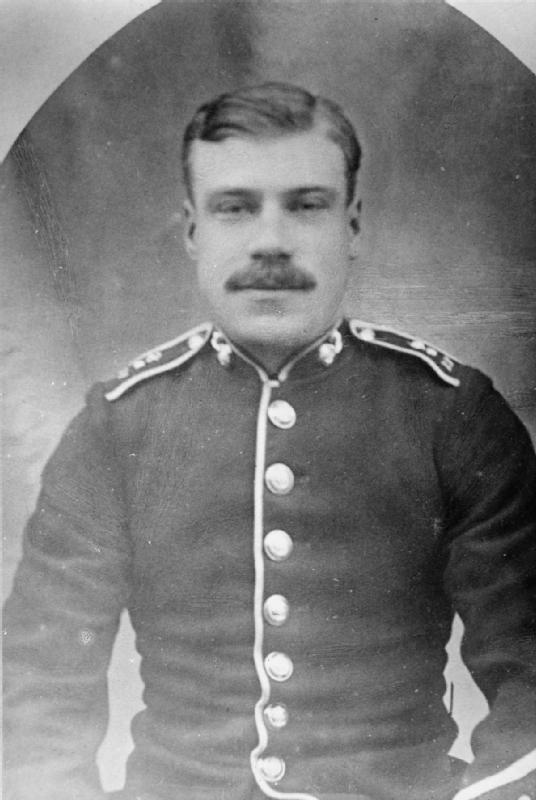 Sidney Frank Godley VC, the first Private to b...