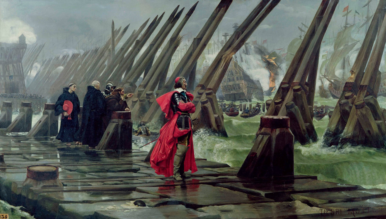 Siège de La Rochelle (1627-1628) — Wikipédia
