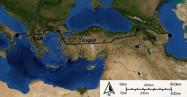 Southern Gas Corridor - Wikipedia