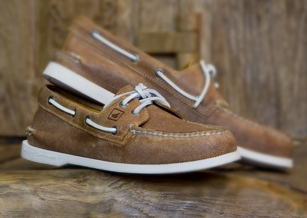 Sperry Top Sider Biscayne Natural Boat Shoe