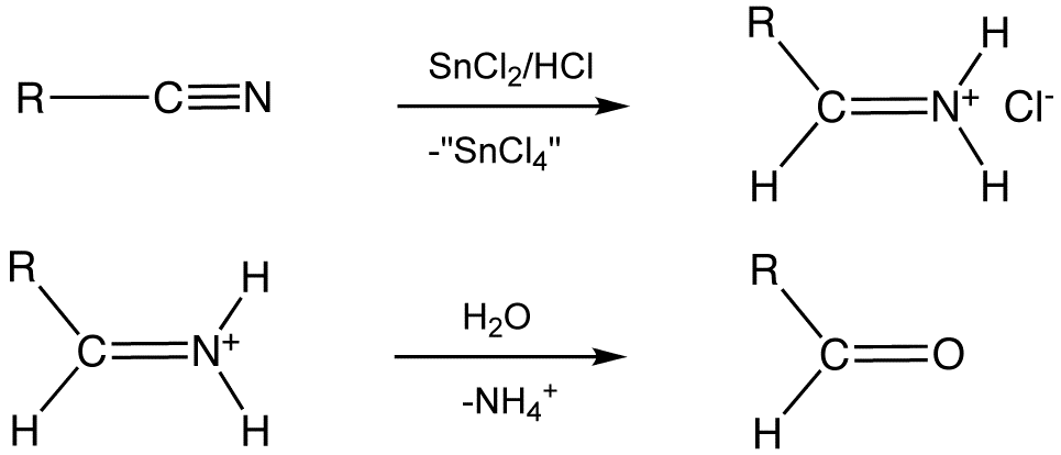 Stephen Aldehyde Synthesis