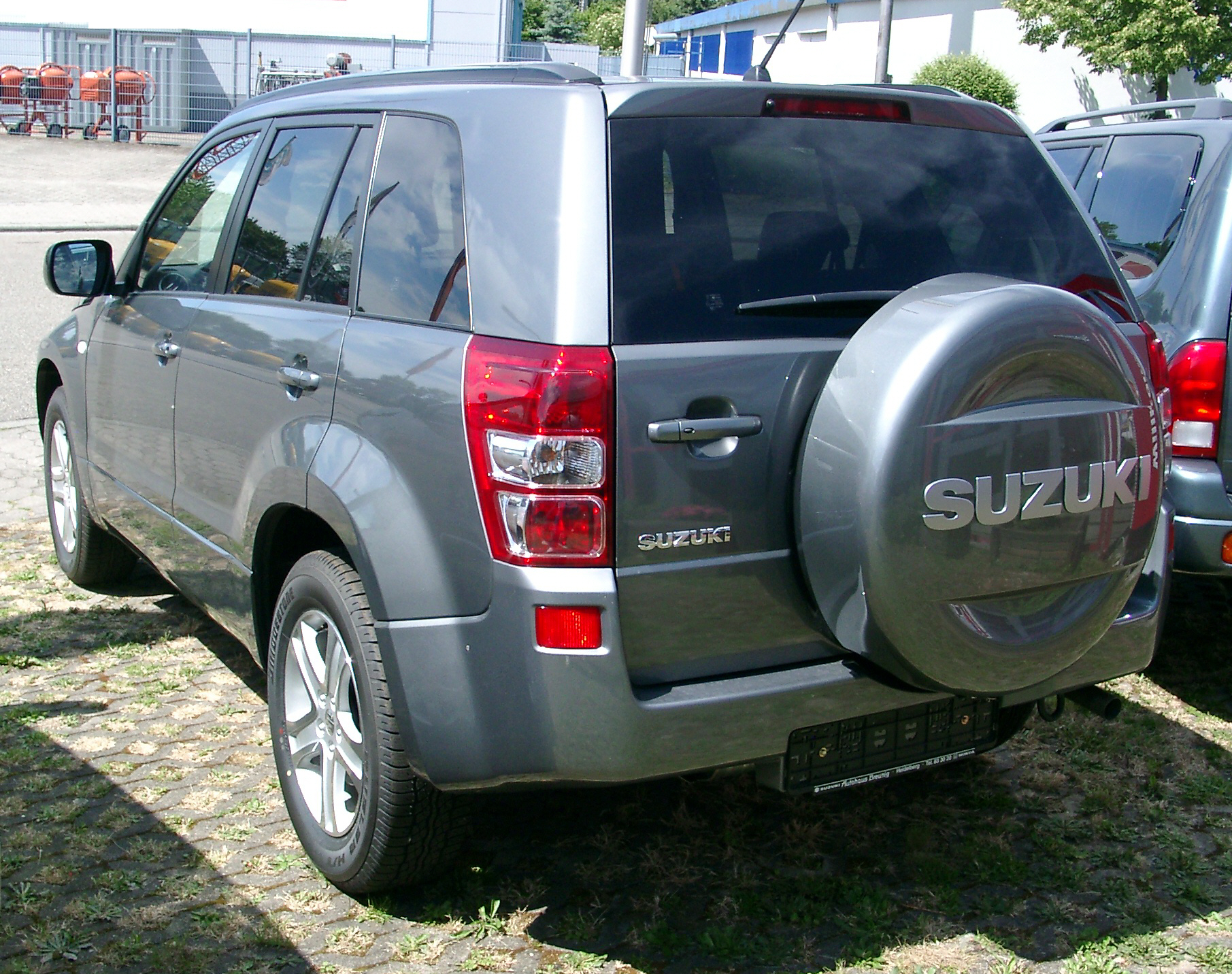 file suzuki grand vitara rear wikimedia mons
