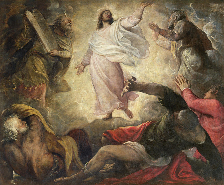 Titian Transfiguration c1560 SanSalvador